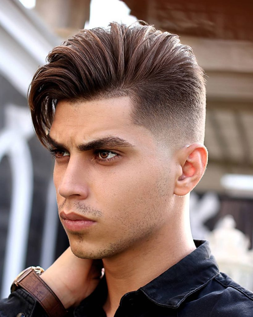 Side Part Undercut Hairstyle