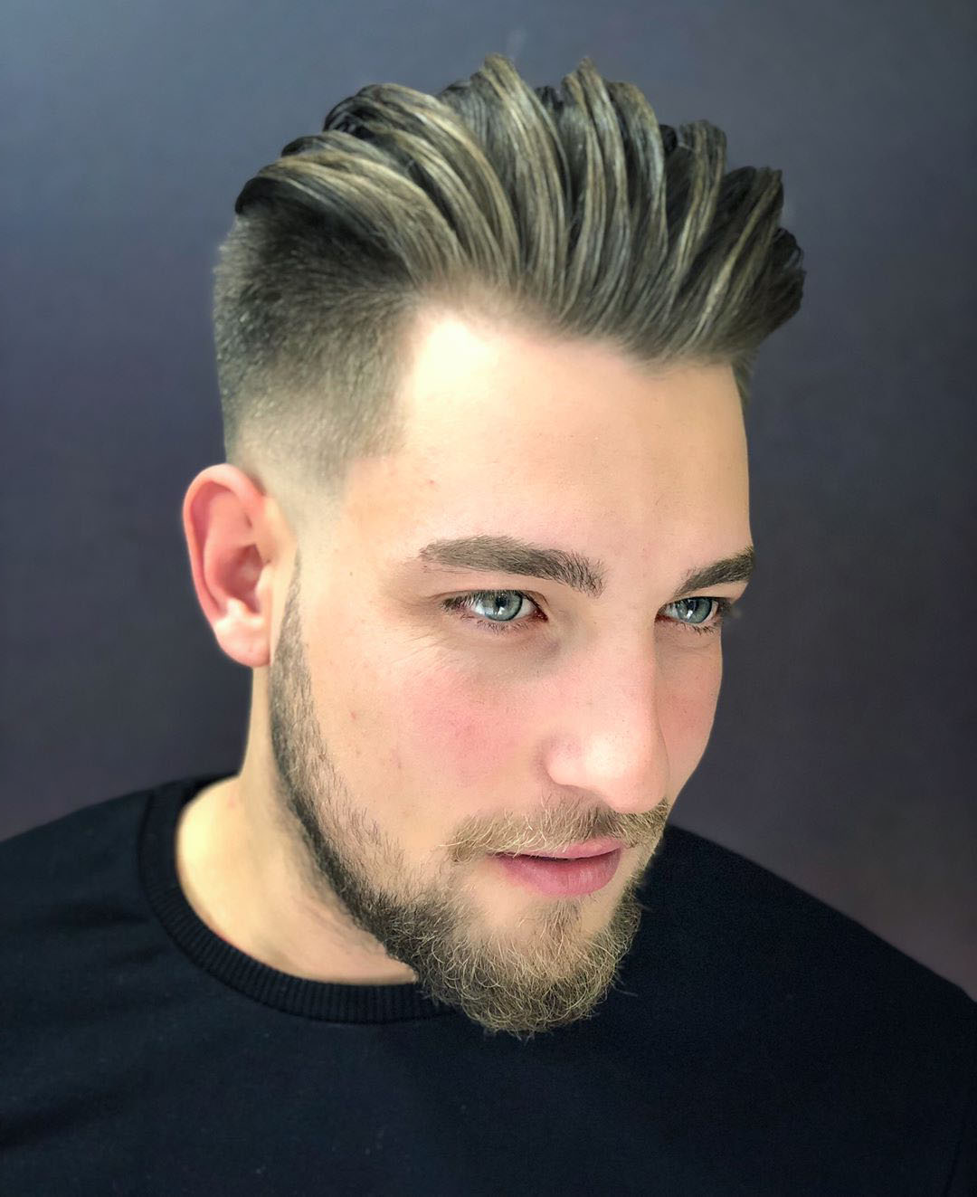 Slick Back Hairstyle for Long Hair