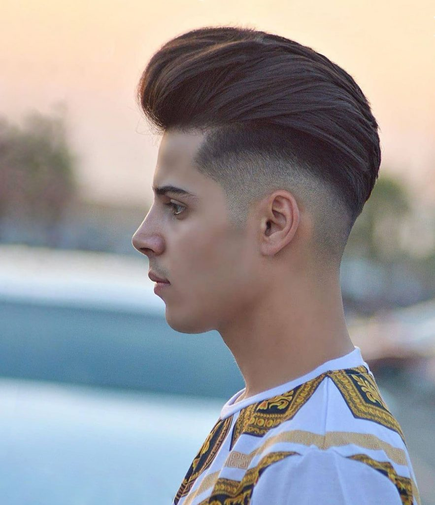 Slick Back Undercut for Young Guys