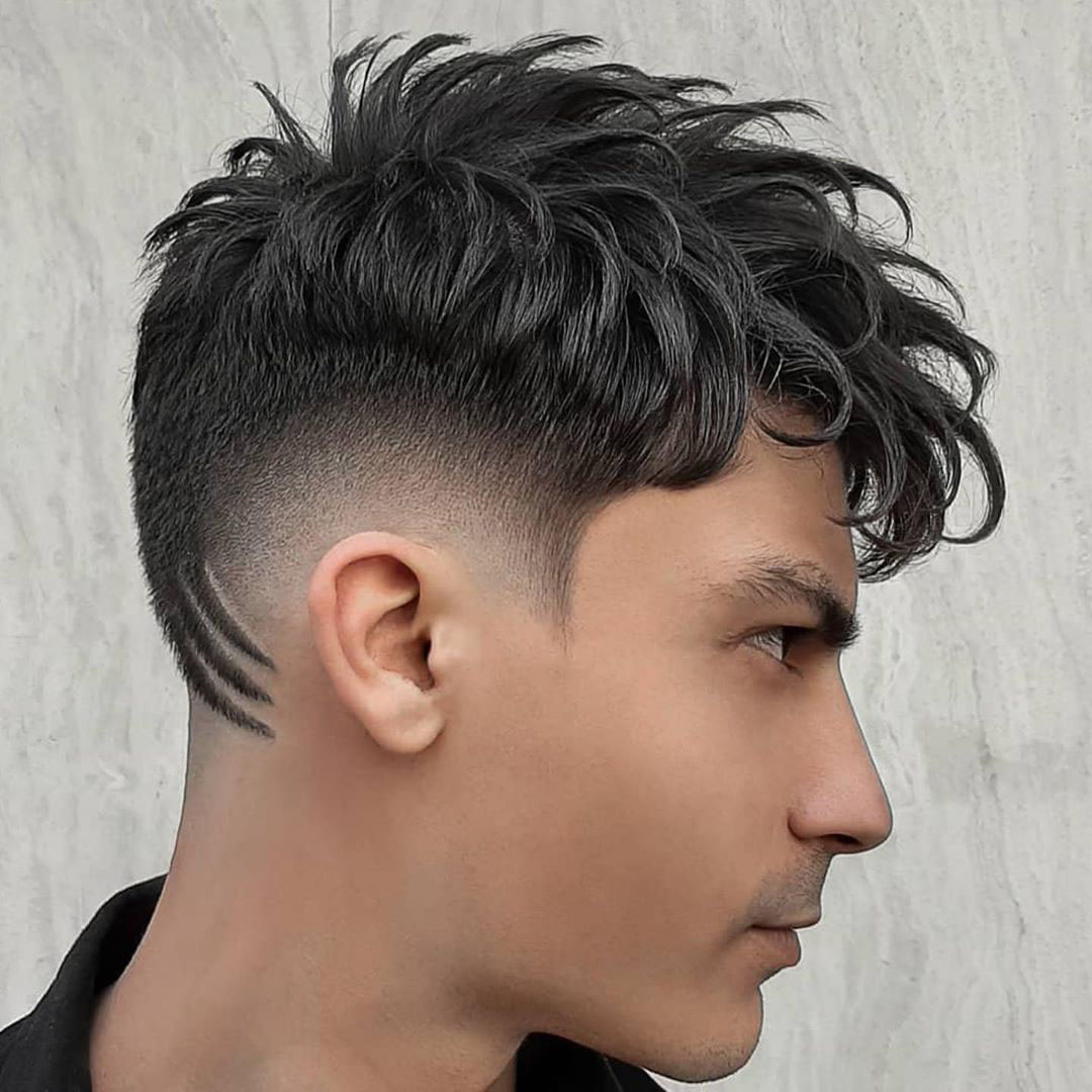Spiky Mexican Haircut with Hair Design