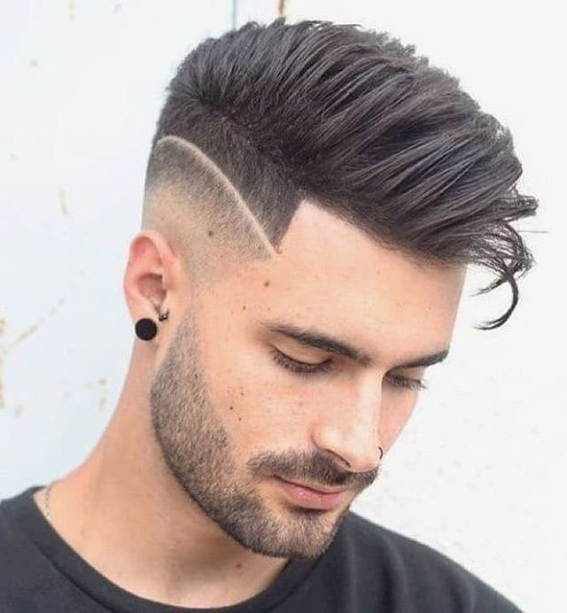 High Fade + Comb Over