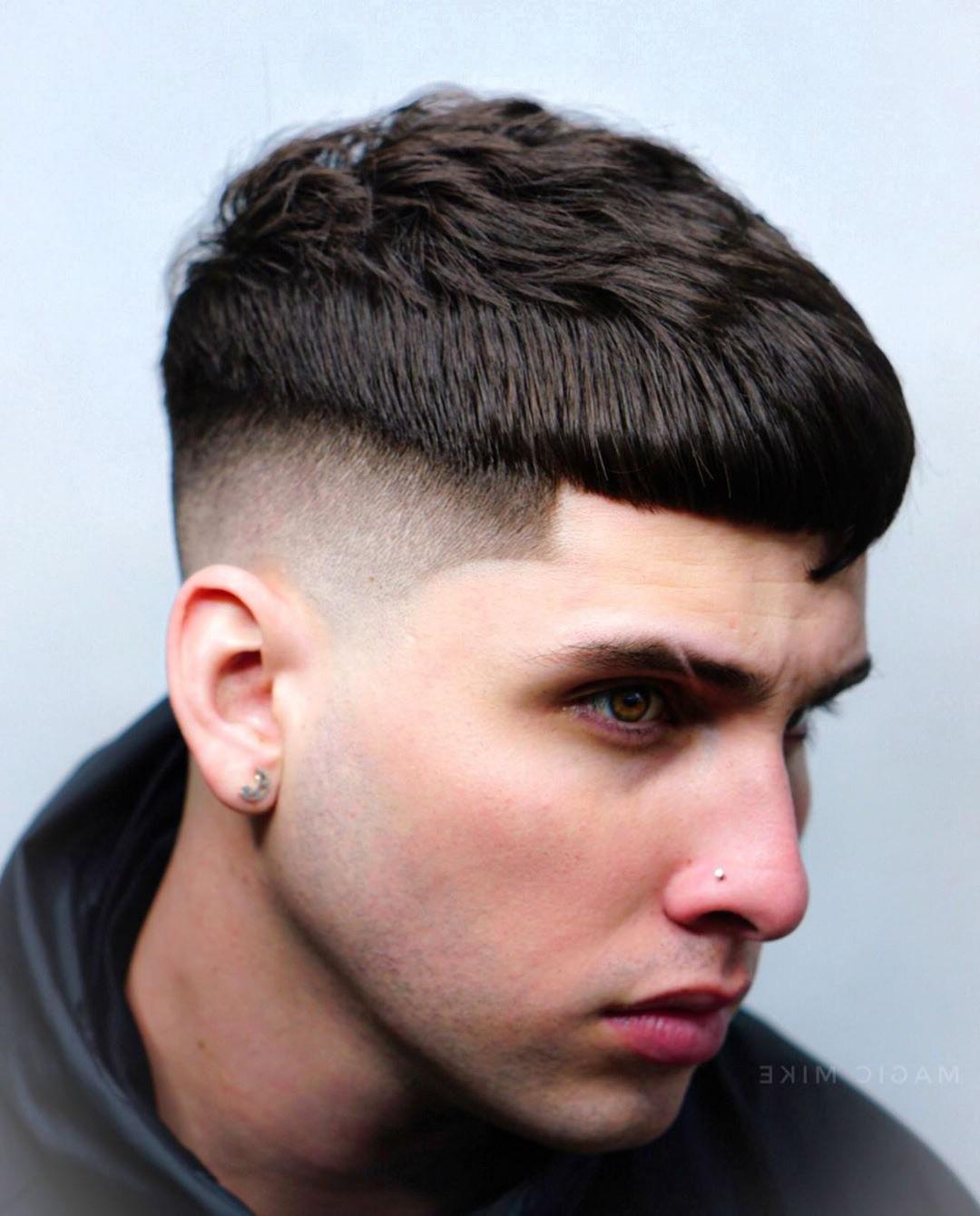 Skin Fade + Black Hair