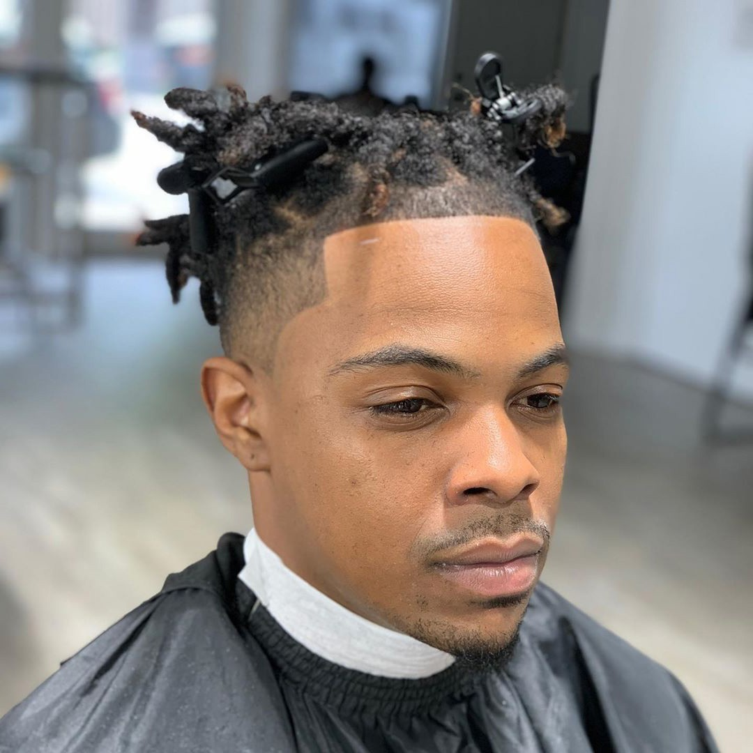 35 Temple Fade Haircuts Look Like A Super Cool Man