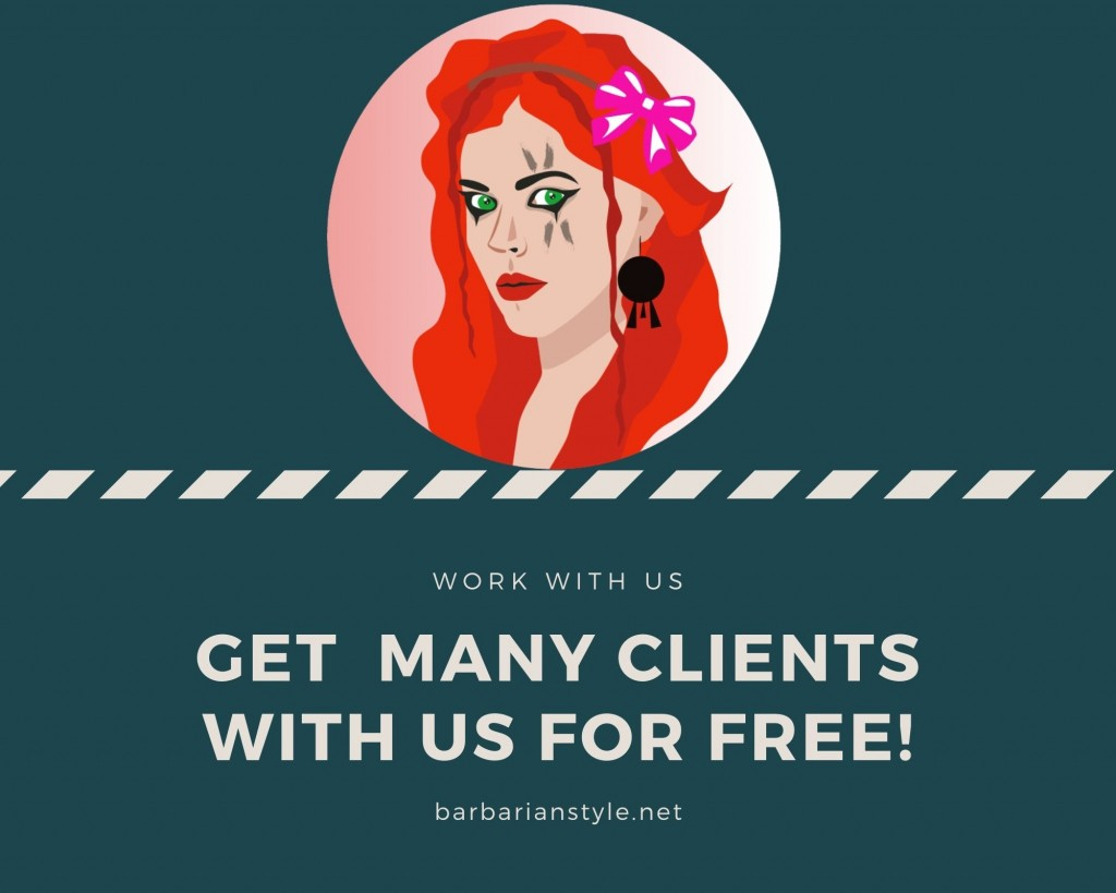 Collaboration with Barbarianstyle.net for barbers, hairstylists, hairdressers.