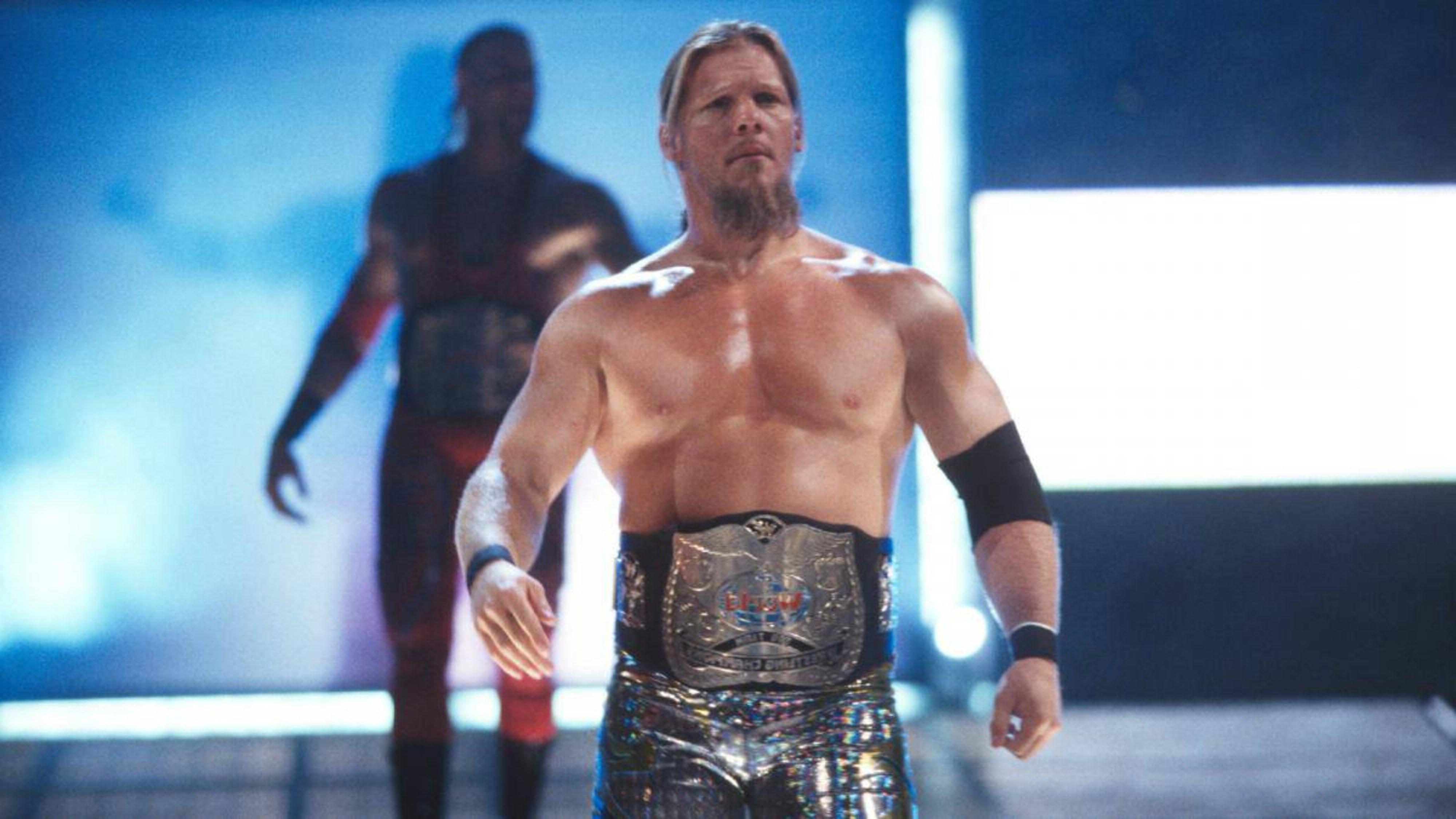 A long beard style of Chris Jericho.