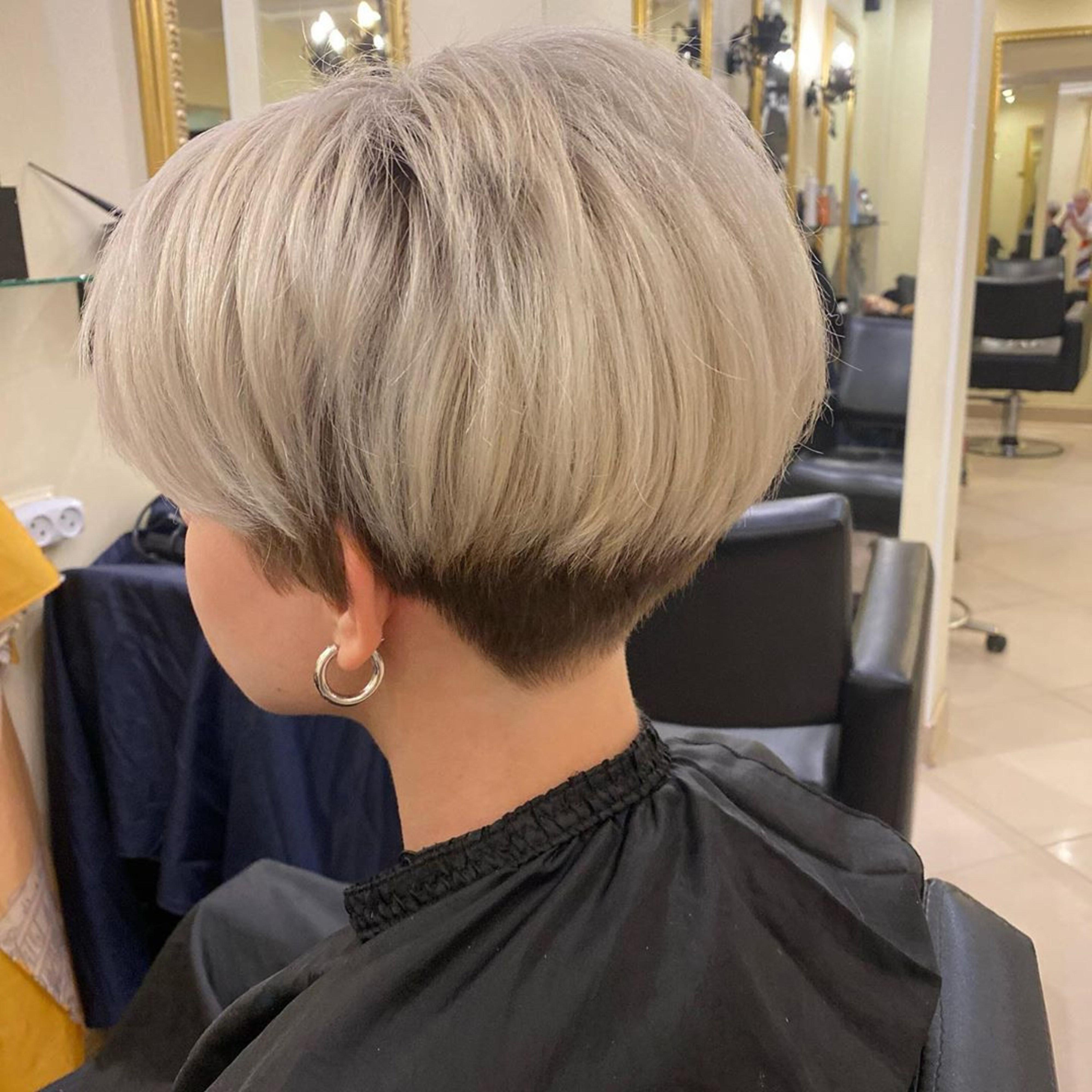 A classy bob haircut.