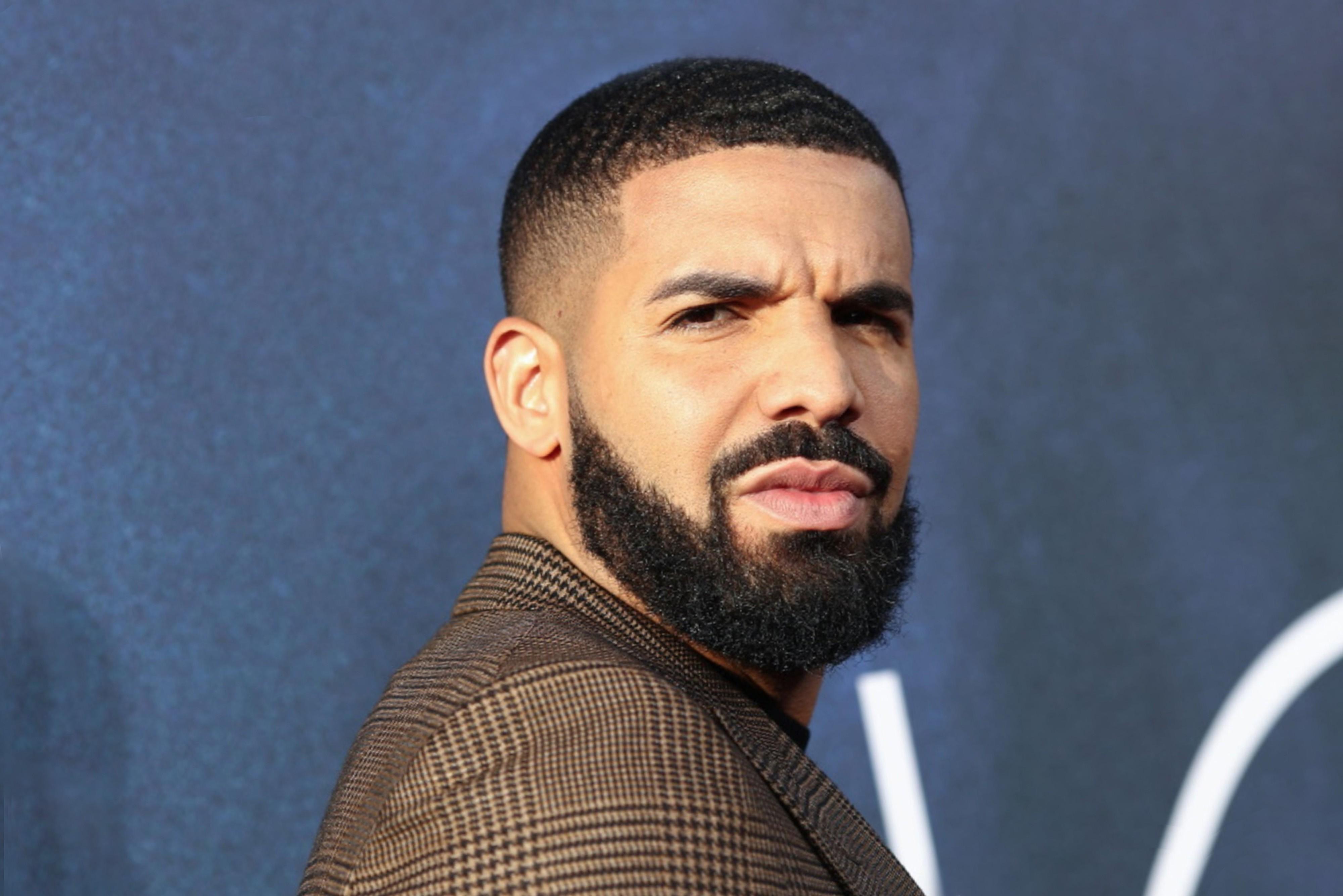 Drake long beard for stylish look.
