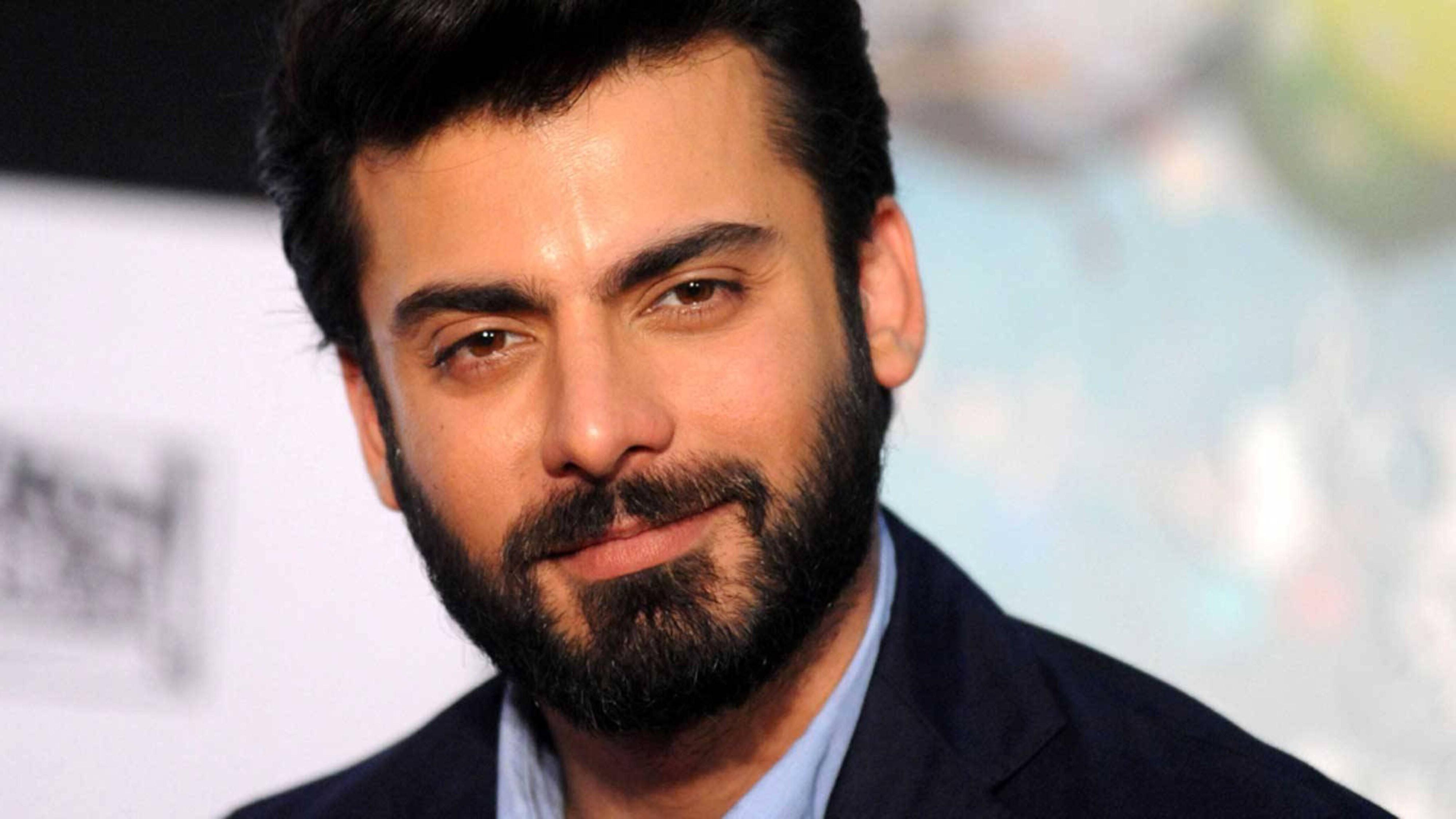 Fawad Khan long beard look.