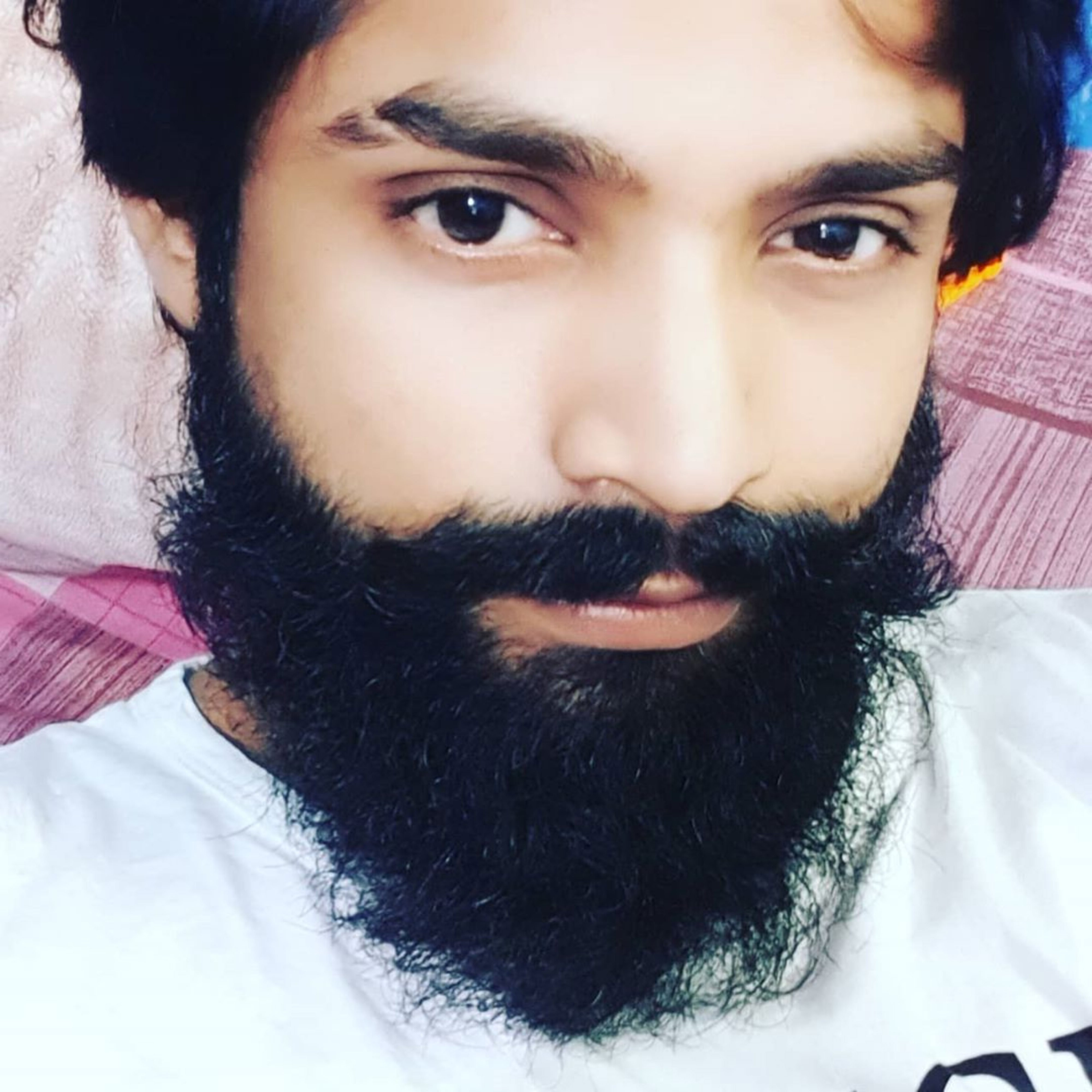 A long beard style of Indian males.