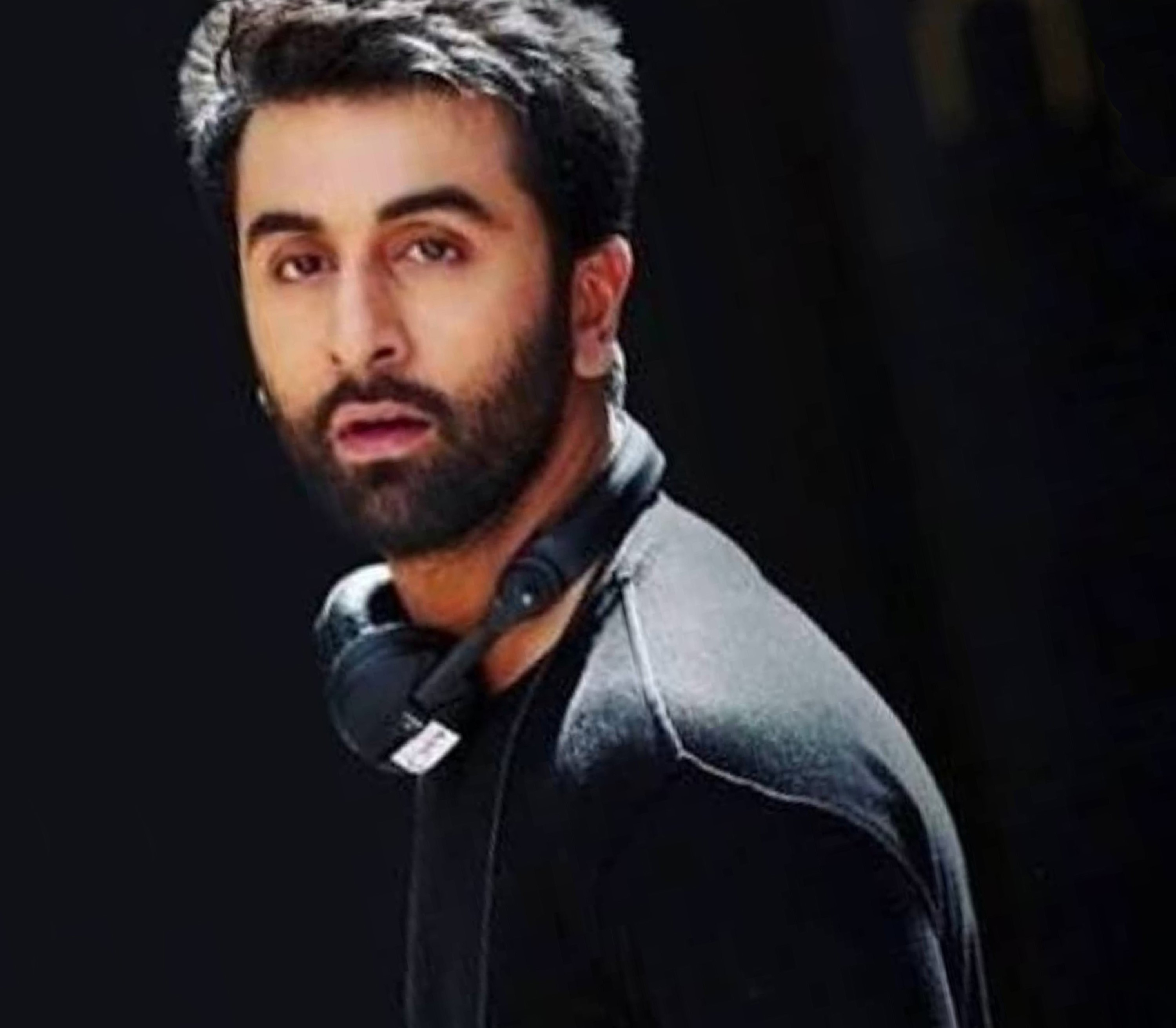 A great full beard of Ranbir Kapoor.