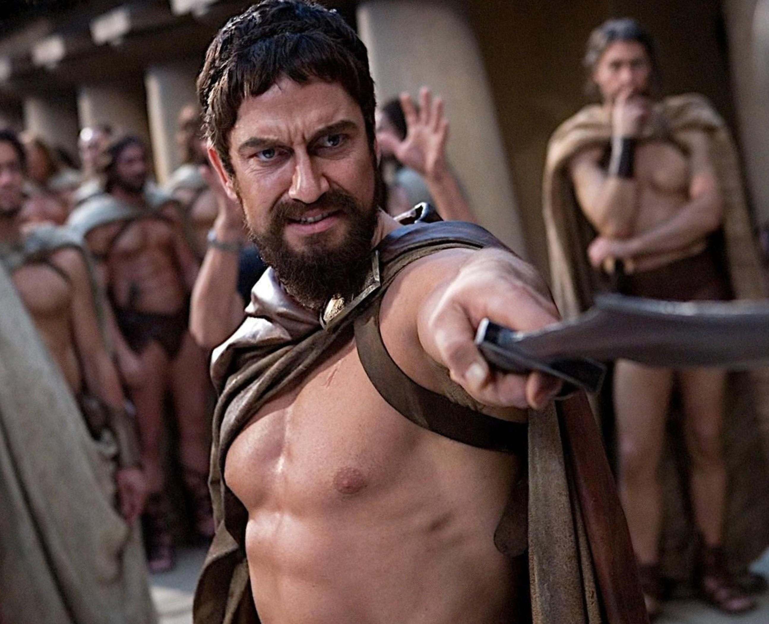 A short boxed beard Leonidas style 2020.