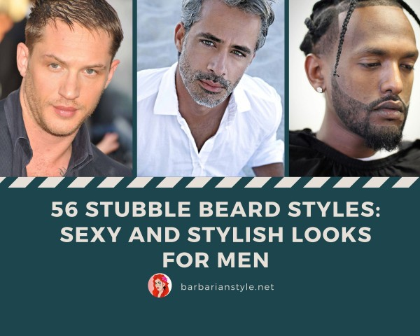 56 Stubble Beard Styles Sexy and Stylish Looks for Men