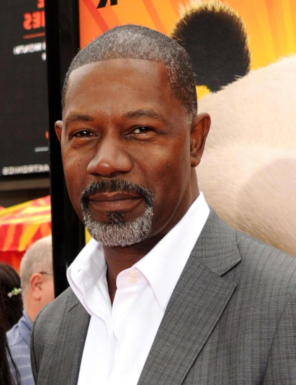 A chin beard for a black man.