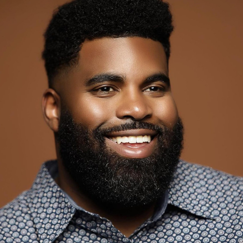 A huge beard for black men.