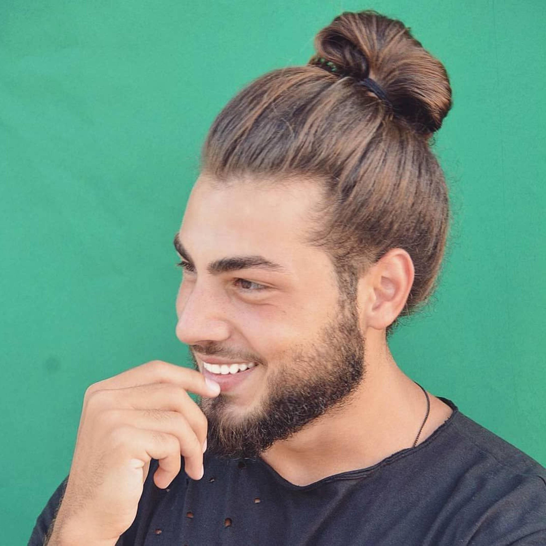 A bun style for European men.
